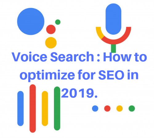 Optimize for SEO 2019
