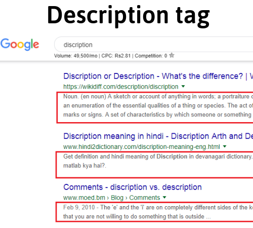 description-tag