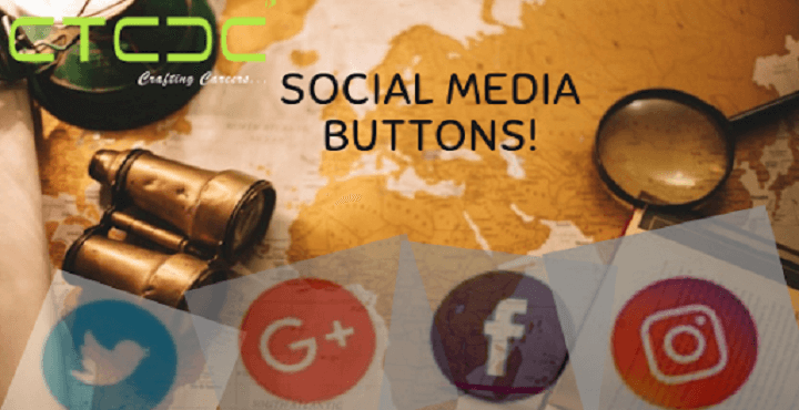 Add Social Buttons To Track Them On your Site