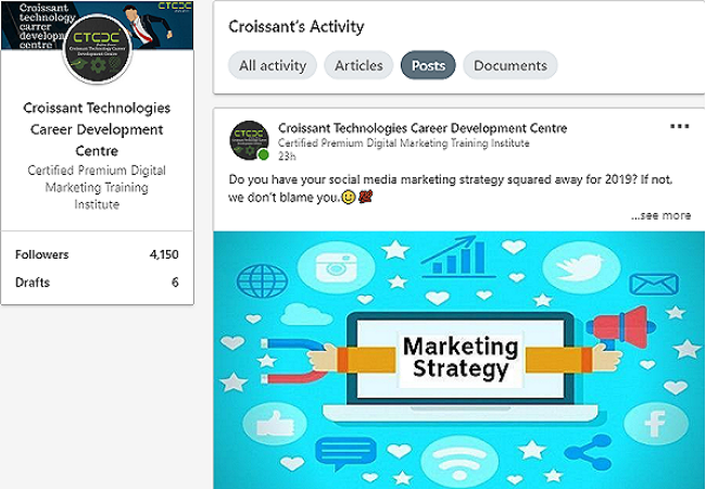 Linkedin Marketing Strategy 2019