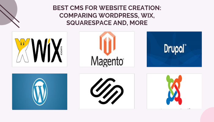 Best CMS For Website Creation: Comparing WordPress, Wix, Squarespace and, More